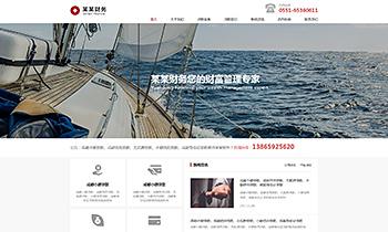 金融财务介绍类网站