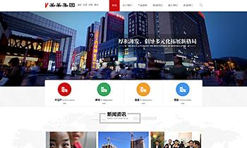 置业企业集团业务介绍类网站