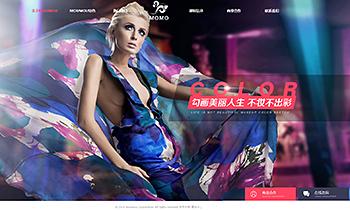 美妆培训介绍类网站