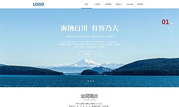 工程技术企业展示类网站