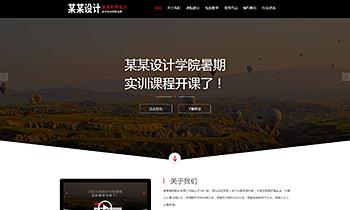 设计培训介绍类网站