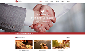 金融基金产品介绍类网站