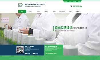 生产加工企业展示类网站