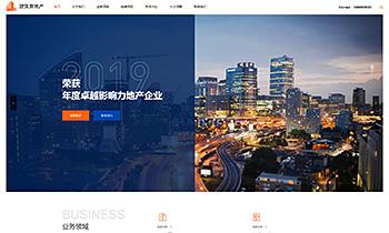房产开发企业介绍类网站